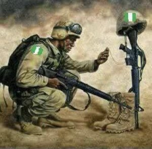 Image result for tears of nigerian soldier
