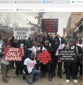 CJN: Nigerians storm streets of New York, urge US, UN to
