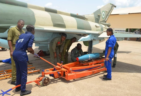 Air Chief tasks troops on bombardment of bandits' hideouts