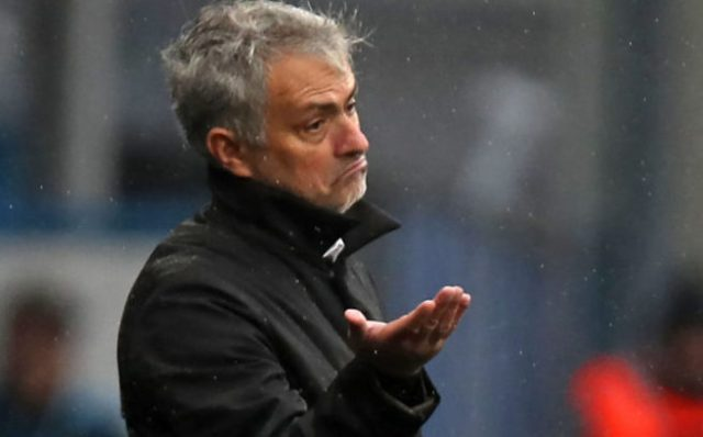 Spurs boss Mourinho lays down law to Aurier: 'I am not laughing'