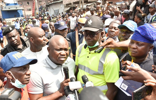 Ita-faaji collapsed building: Two weeks after, Panel fails to submit report