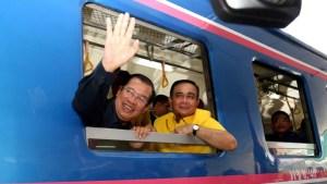 Cambodia, Thailand, Train