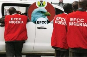 EFCC, on the directive given by the office of the Attorney-General of the Federation has suspended about twelve directors and top staff