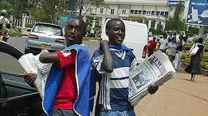 Newspaper vendors