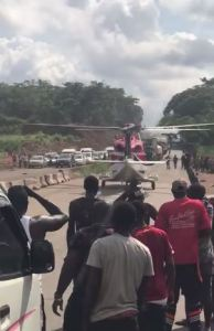 Helicopter Benin Ore