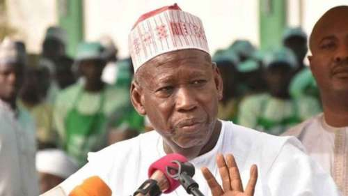 Ganduje blasts Kwankwaso, receives former PDP chair, other decampees to APC