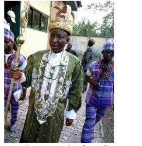 Rivers state monarch, Eze Edison Omeodu of Omofe Rundele