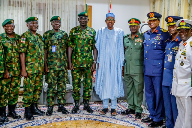 Service Chiefs in the eye  of  Boko Haram storm