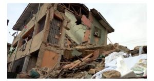 Building collapse in Lagos