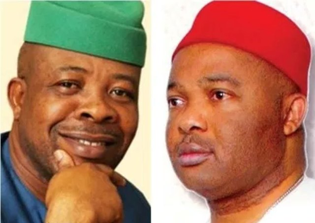 Uzodinma vs Ihedioha: 9 PDP, APGA, AA lawmakers defect, boost APC in Imo