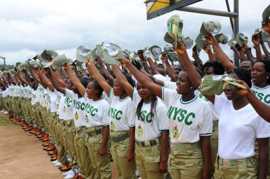 12 serving NYSC members marry themselves in Anambra