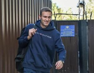 Navalny released