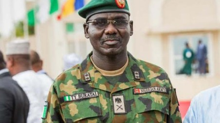Buratai celebrates Easter with soldiers