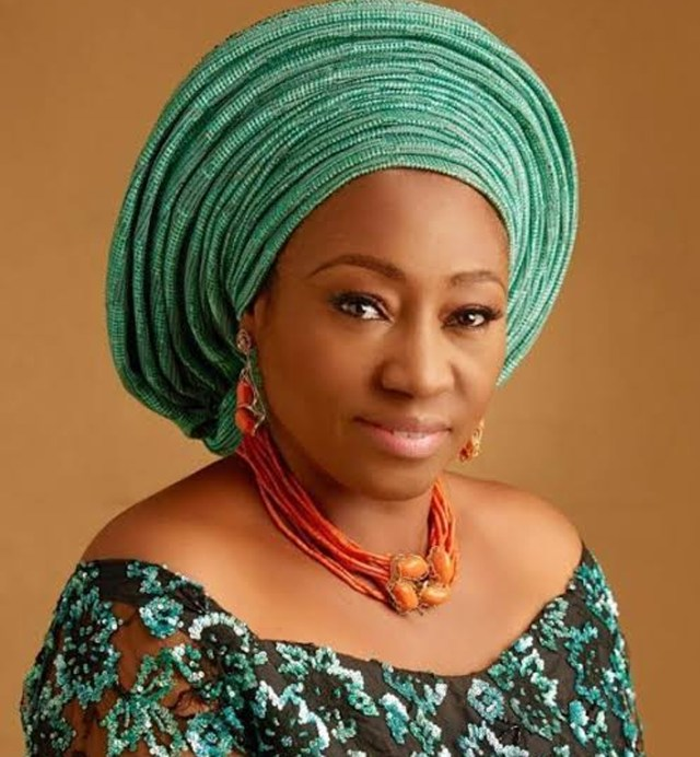 Fayemi's wife takes fight against GBV to EKSU