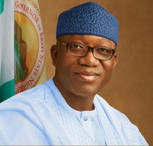 Fayemi gives physically-challenged woman N150,000 for wheelchair