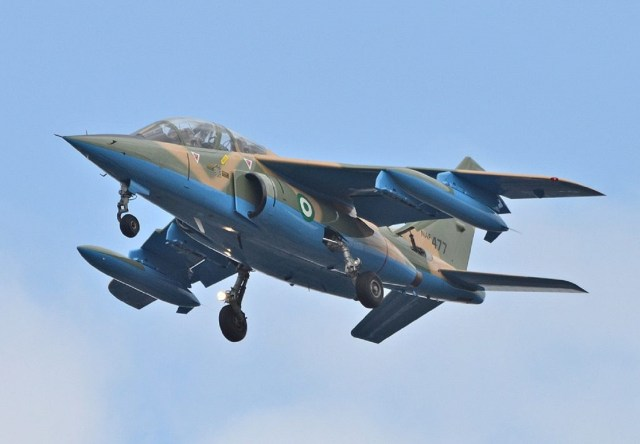 NAF jets strikes, kill many terrorists, destroy their hideouts at Durbada, Borno
