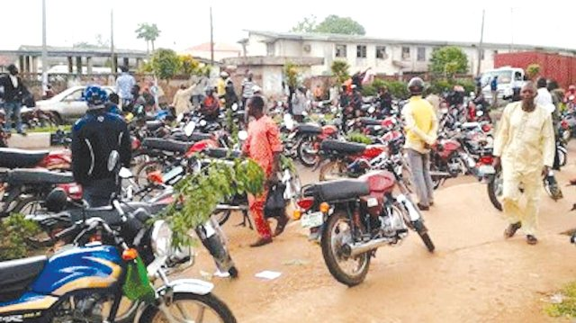 Motorcyclists protest death of colleague in Ogun