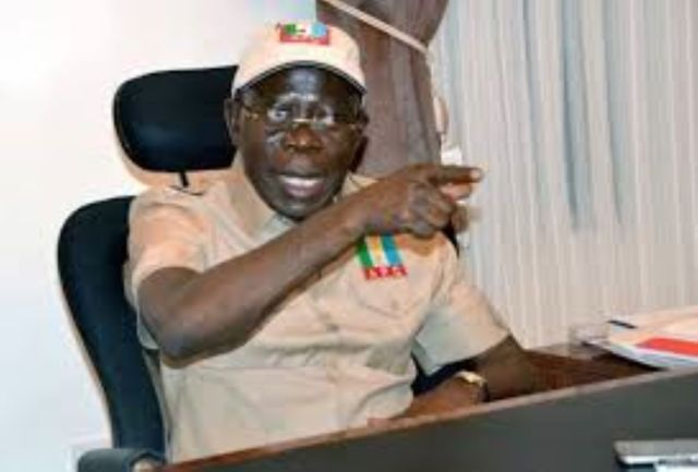 Using what I said about Ize-Iyamu years ago is lazy man's argument— Oshiomhole