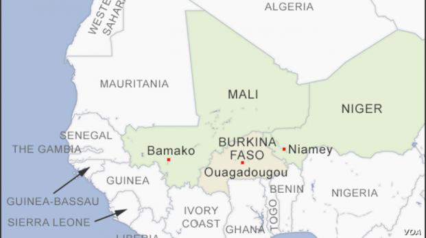 Burkina Faso, terrorists, village