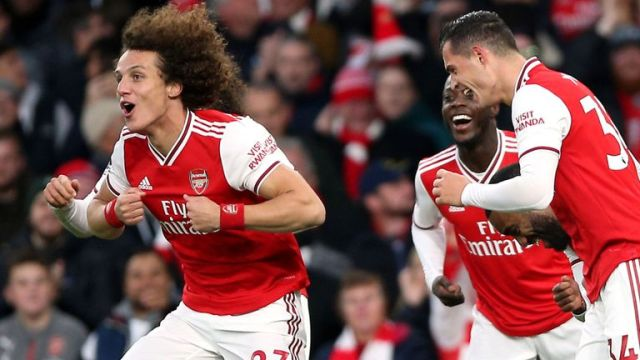 Gunners boss Arteta hails David Luiz influence at Arsenal
