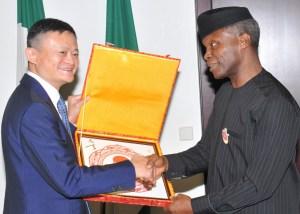 Jack Ma, Alibaba, Osinbajo