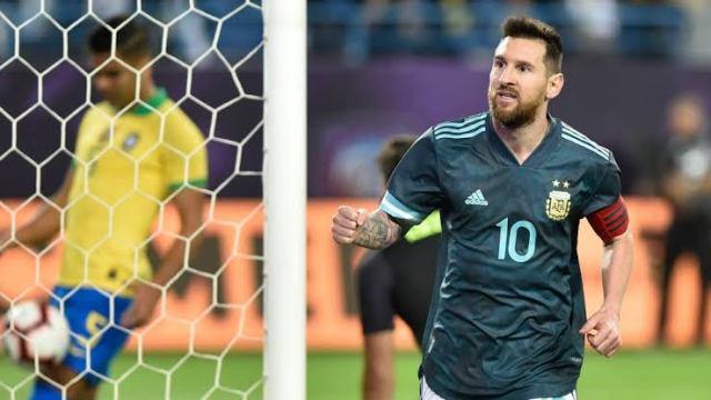 Messi, Argentina, Brazil