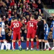 Liverpool hold on to see off nervy win against Brighton, as Alisson sees red