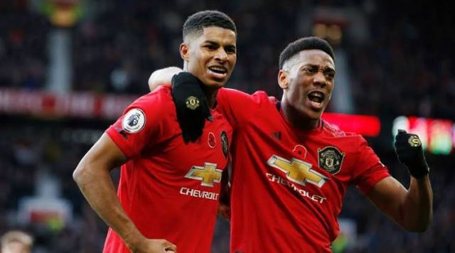 Man United 3-1 Brighton: Rashford and Martial lead vibrant Red Devils