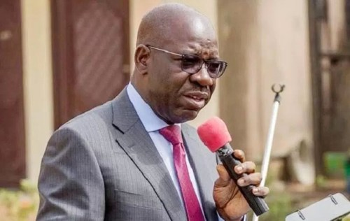 Obaseki mourns Sam Iredia, hails his enviable strides
