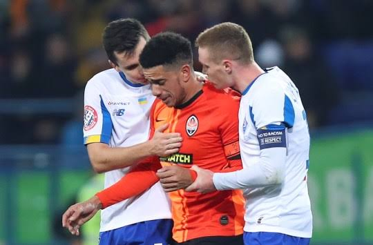 Willian calls for 'proper sanctions' in wake of Taison racial abuse