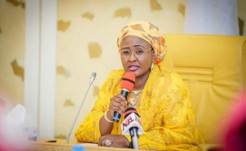 Aisha Buhari on social Media Bill: Nigerians reacts