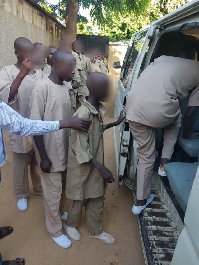 Military hands over 86 Boko Haram child fighters to Borno govt for rehabilitation