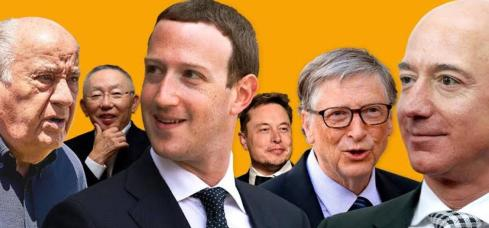 Richest people in world experience wealth fall first time in decade
