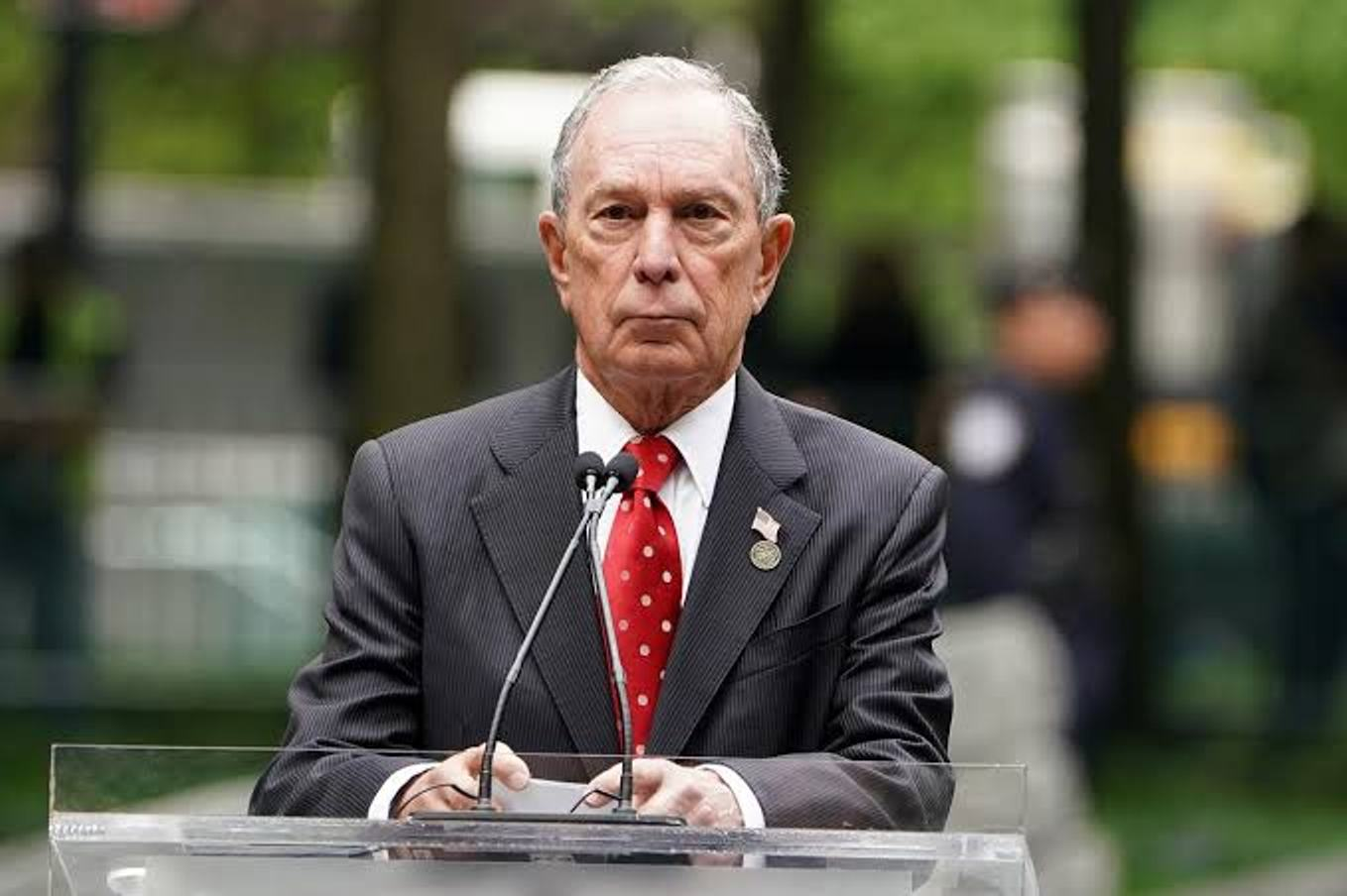 I'm running for president to defeat Trump ― Bloomberg