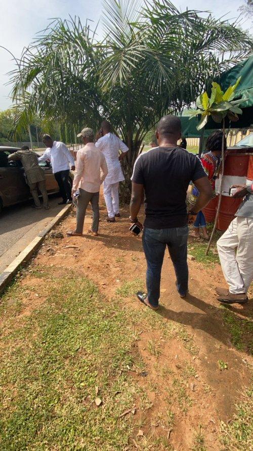 DEVELOPING: We're here for Sowore, Deji Adeyanju, others arrive DSS office