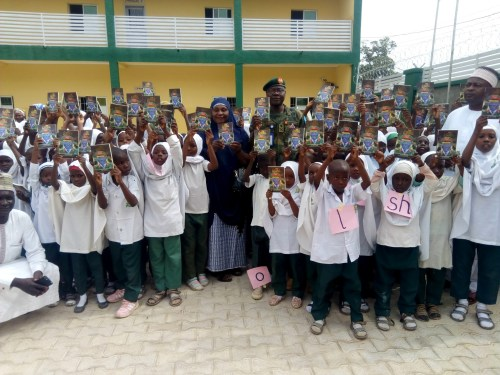 Buratai donate 1,000 books, remodel primary school in Kaduna