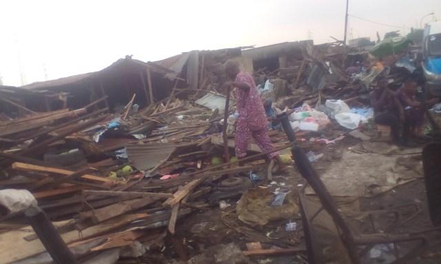 Traders decry demolition of Ikosi-Ketu fruit market in Lagos