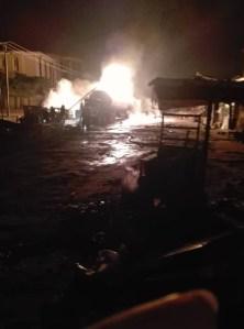 Fire, Lagos