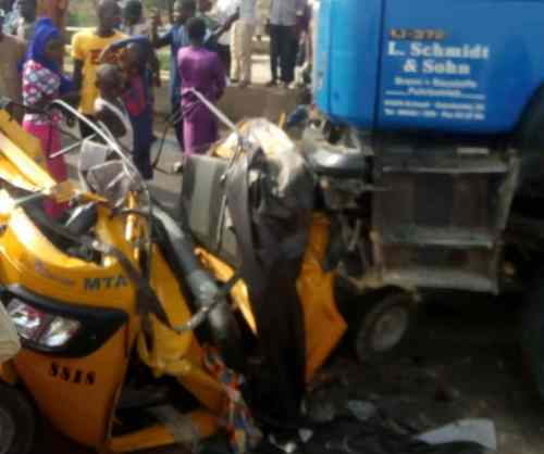 Trailer crushes 20 persons to death in Yola