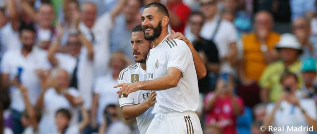 Hazard, Benzema, Real Madrid