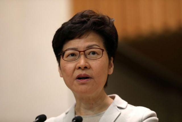 Carrie Lam, Hong Kong, Polls