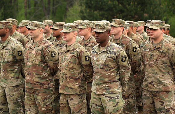 Nnadozie's first in US army