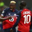 Osimhen ends away goal drought in Lille's defeat to Valencia