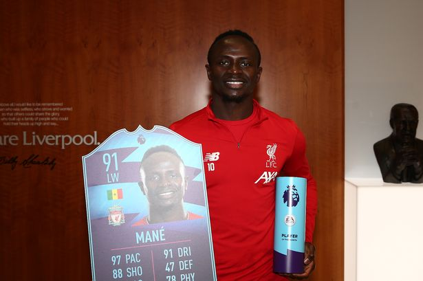 Sadio Mane, Player Of The Month
