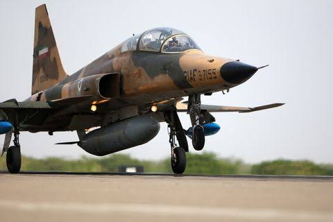 Restored Iran's Fighter Jet Crashes During The Test Flight