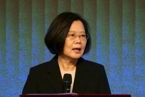 Taiwan, HK, Tsai Ing-Wen