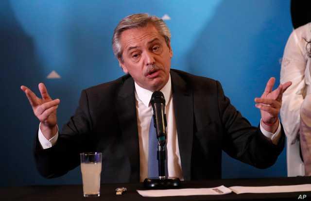 Argentina President COVID-19
