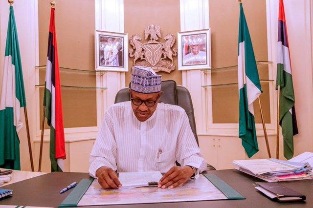 Buhari constitutes committee on U.S. visas ban