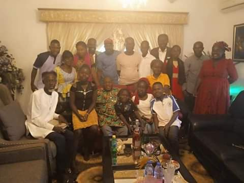 Christmas: Igali doles out scholarship to 8 pupils in Abuja