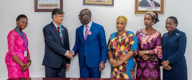 Obaseki, UNICEF strengthen partnership on rural devt in Edo